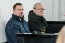 Topeltmõrva kohtuistungil näidatud õõvastavad pildid sundisid lähedased saalist lahkuma