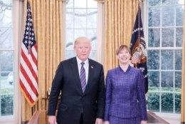 HEADUSE TELG: Kersti Kaljulaid andis Balti-USA koostööle uue nime