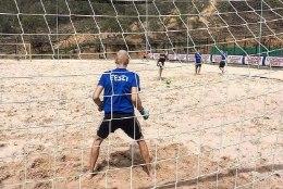Euroopa eliiti ihkav rannajalgpallikoondis lihvis Hispaanias tähtsaid elemente