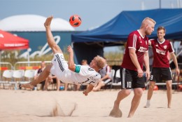 GALERII | Päike, meri ja vutt! Rannajalgpalli meistriliiga sai võimsa avapaugu