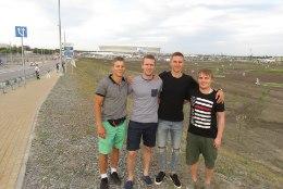 ÕL ROSTOVIS | Brasiilia fänn Karol Mets tuli sõpradega Rostovisse: valisime esmalt välja linna ja seejärel mängu