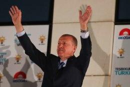 Erdoğan jätkab Türgi presidendina