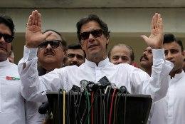 Pakistani valimised võidab tõenäoliselt endise kriketitähe partei