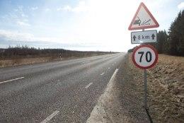 Pinnatud teed lagunevad, sest 90 protsenti juhtidest ületab kiirust