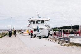 Parvlaevaliiklus on tugeva tuule tõttu häiritud