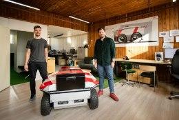 ÕL VIDEO | Eesti iduettevõte lõi roboti, mis lükkab lund ja koristab tänavaid