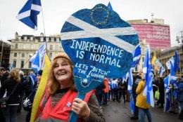 Šotimaal nõuavad meeleavaldajad iseseisvust
