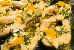 EVELIN ILVESE KOKAKOOL: pidulik või-munakaste valgele kalale