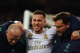 Suvel 100 miljoni euro eest Reali siirdunud Hazard jääb El Clasicost kõrvale ja tõenäoliselt tänavu enam väljakule ei jookse