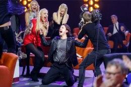 Victor Crone astub üles Londonis toimuval Eurovisioni eelpeol
