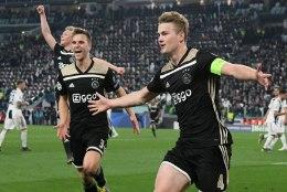 AJAX TEGI SEDA TAAS! Noored hollandlased kukutasid Cristiano Ronaldo ja Juventuse