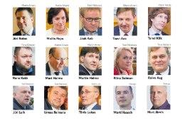 15 ministrikandidaadi seas on nii vanu kalu kui ka algajaid