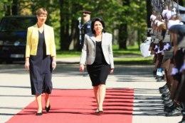 GALERII | Eestisse visiidile tulnud Gruusia riigipea kohtus Kadriorus president Kaljulaidiga