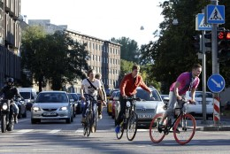 Linnaratturid Tallinna tänavatest: siin ei ole normaalseid tingimusi rattakasutajatele