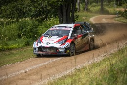 VIDEO | Rally Estonial konkurendid tolmu jätnud Ott Tänak annab Soome teedel kuuma
