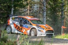 Toyota rallimees stardib Rally Estonial uhiuue Ford Fiestaga