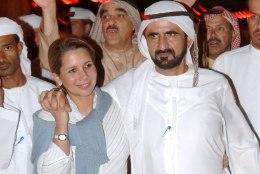 Draama Dubai valitseja peres: printsess sepitses abikaasa juurest põgenemist mitu kuud
