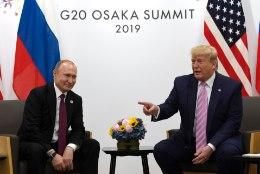 FLIRT PUTINIGA: Trump teeks G7st taas G8