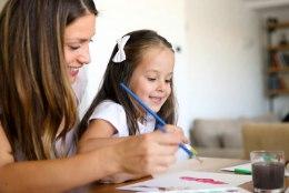 Head vesi- ja guaššvärvid suurendavad lapse loomingulisust
