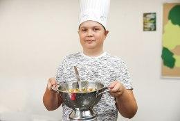 LASE LAPS SÜÜA TEGEMA: peakokkade sõnul on köök koolitundide loomulikuks jätkuks