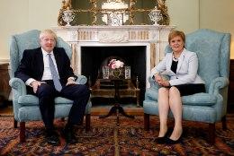 Boris Johnson ei luba šotlastel iseseisvusreferendumit korraldada