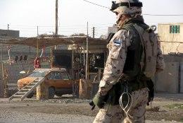 Eesti staabiohvitser viidi turvakaalutlustel Iraagist Kuveiti