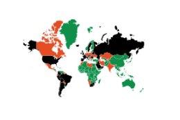 SUUR KOROONAKAART | Viirusepõrgu asub Euroopas, aga karjaimmuunsus on seitsme maa ja mere taga