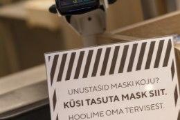 ALGUS ON PALJUTÕOTAV: enamik pealinlasi kannab avalikes ruumides maski