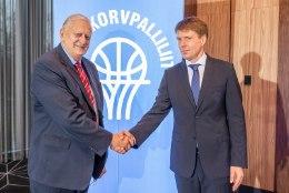 Korvpalliliidu värske president Priit Sarapuu: siiani pidasin neid kingi liiga suurteks