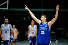 GALERII   Eesti korvpallikoondis valmistub EM-valikmängudeks, sõelale on jäänud veel 14 mängijat