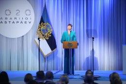 GALERII | President Kaljulaid teenetemärkide üleandmisel: tänamine ja kaasteeliste tunnustamine on tähtsam kui kunagi varem