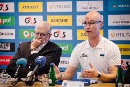 Eesti korvpallikoondise peatreener Toijala: peame näitama kiiret mängu