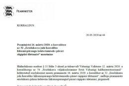 VALITSUSE KORRALDUS | Eesti lubab üle riigipiiri töölkäimist Läti vahel