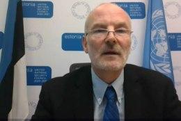 VAATA JÄRELE | Algab Eesti eesistumine ÜRO julgeolekunõukogus, suursaadik Sven Jürgenson andis pressikonverentsi