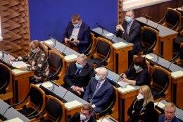 Riigikogu võttis vastu hädaolukorra seaduse, terviseamet sai õigusi juurde