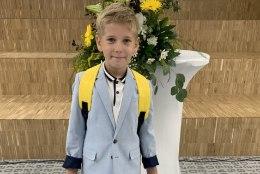 ESIMENE KOOLIPÄEV | Tauri Tallermaa noorim poeg alustab kooliteed: kõik hõõruvad nina alla, et ta on nüüd valmis poiss!