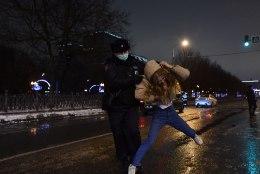 GALERII JA VIDEOD | Venemaal peeti protesti käigus kinni üle 3300 inimese, järgmine nädalavahetus on juba uusi meeleavaldusi oodata