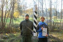 GALERII | PPA tunnustas president Kersti Kaljulaidi piirivalvamise arengusse panustamise eest piirimärgiga