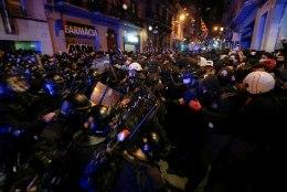 Barcelonas jätkuvad meeleavaldused vangistatud räppari toetuseks juba viiendat päeva