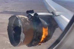 VIDEO   Boeingu lagunenud mootor pakkus reisijatele kõhedat vaatepilti