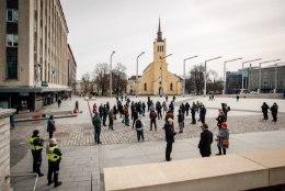 GALERII | Meeleavaldajad kogunevad taaskord Vabaduse väljakul