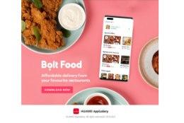Bolt Food jõudis AppGallery kasutajateni üle Euroopa