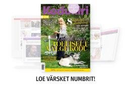 UUS KODUKIRI | Maikuu ajakirjas heidame pilgu aiakujunduse peapreemia võitnud aeda Saaremaal