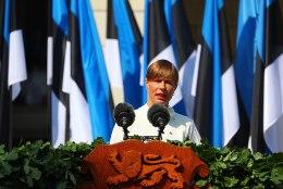 Kersti Kaljulaid võidupüha kõnes: pidev treenimine, harjutamine ja kaitsevajadusele mõtlemine annab meile kindluse, et oleme kaitstud