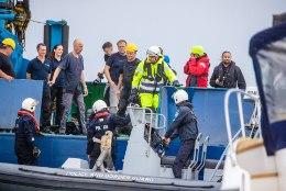 TÖÖD JÄTKUVAD: parvlaeva Estonia vraki eeluuringuid seganud kõrge lainetus rauges