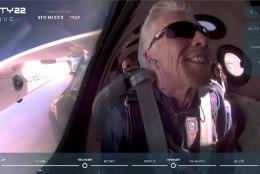 VIDEO   Miljardäride võistluse esimene kosmosehüpe: Richard Branson tegi oma esimese kosmoselennu üheksa päeva enne konkurenti