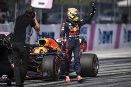 Suurepärases hoos Verstappen võitis järjekordse kvalifikatsiooni