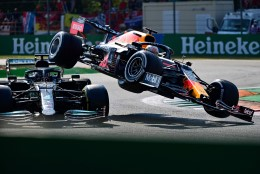 BLOGI | McLarenid võtsid Itaalias kaksikvõidu, turvakaar päästis kahe kange kokkupõrkes ilmselt Hamiltoni elu