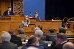 Kallas andis riigikogule üle tuleva aasta eelarve
