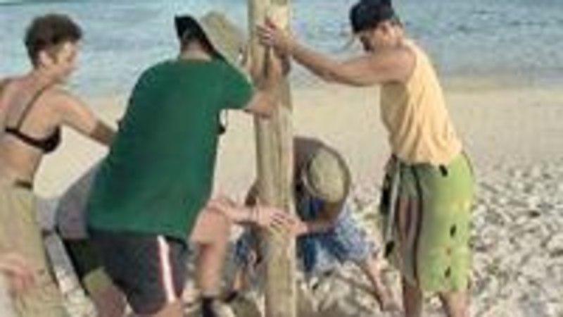 Eesti Robinsonid neli nädalat asustamata saarel
